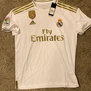 Official Real Madrid home jersey 19-20 kit